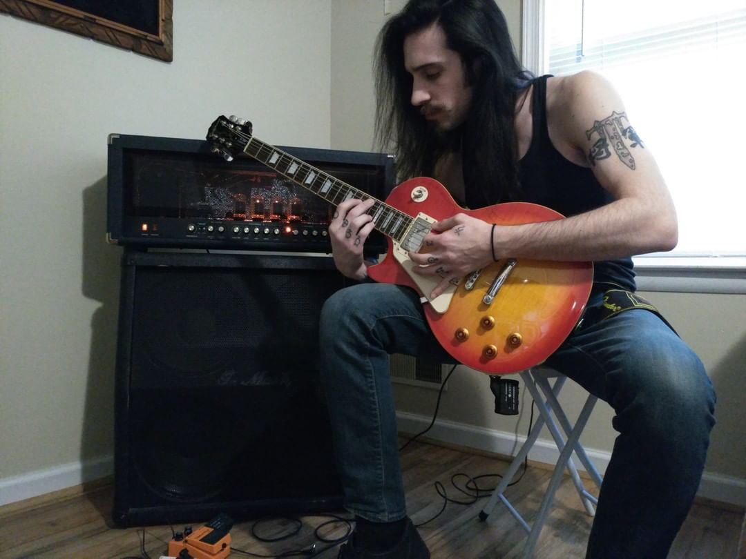 Dante, working on some new music with all this unexpected down time.#TrippEise...