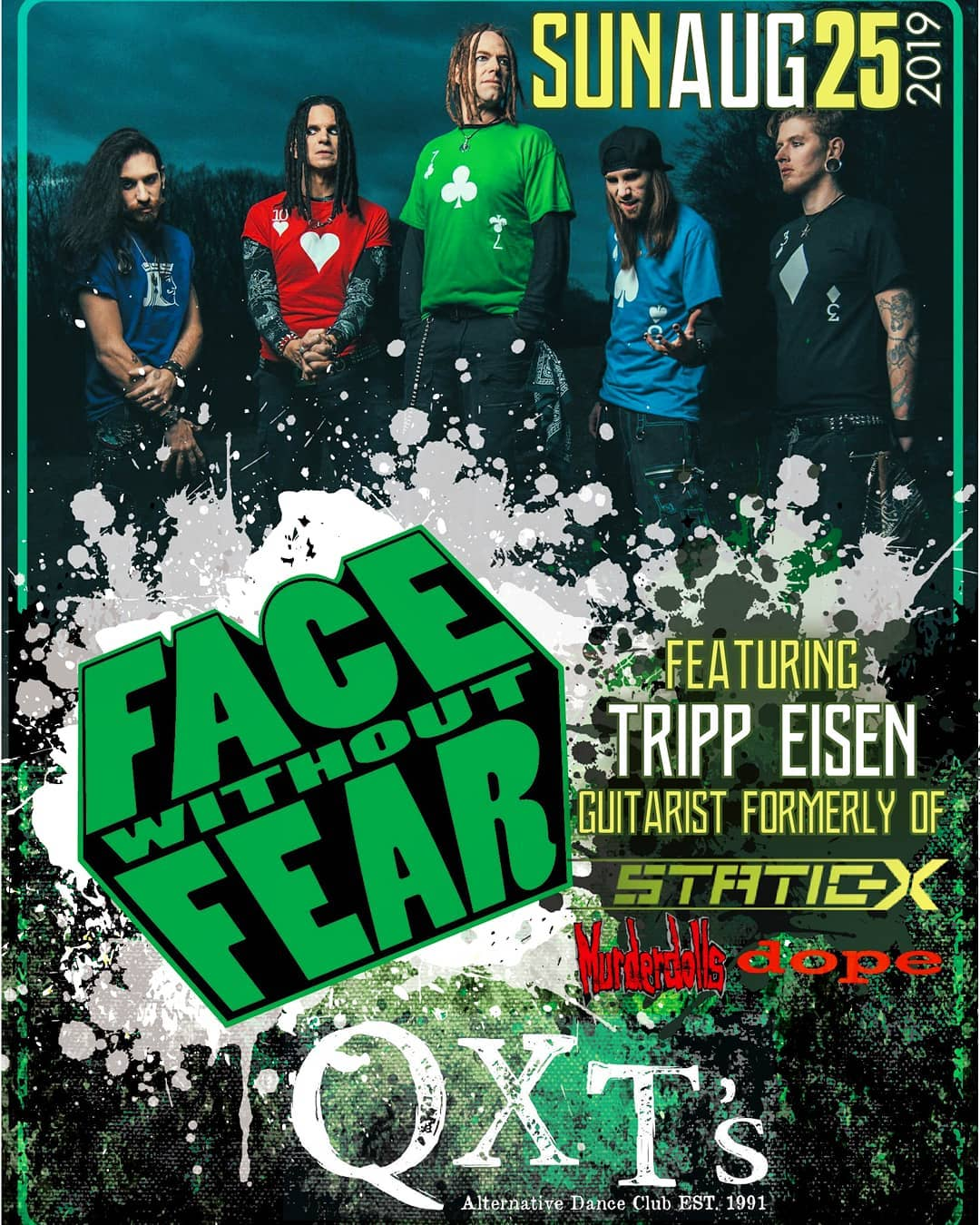 Face Without Fear- a new project from Tripp Eisen (Static-X, Murderdolls) will p...