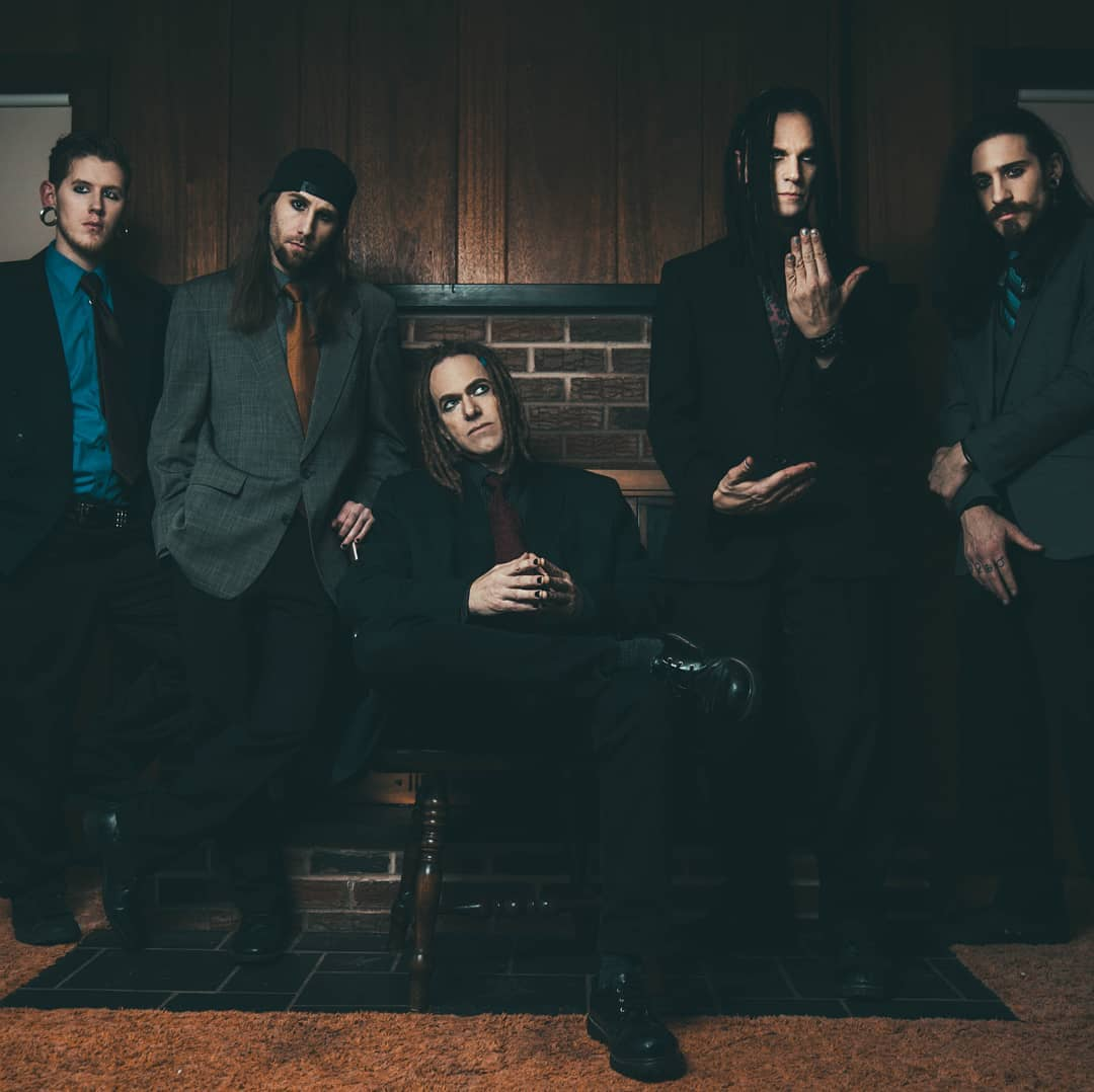 Face Without Fear lineup: T.J. Cooke (drums), Mike (bass), Ken Mantis (vocals), ...