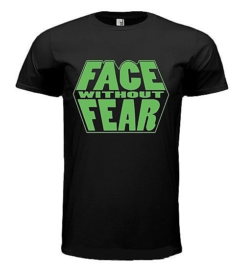 NEW MERCHANDISE!⁣ Limited edition Face Without Fear t-shirt will be available fo...