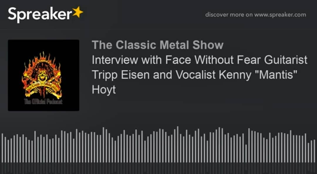 "Tripp Eisen and Kenny ""Mantis"" Hoyt appeared on this week's Classic Metal Show. ..."