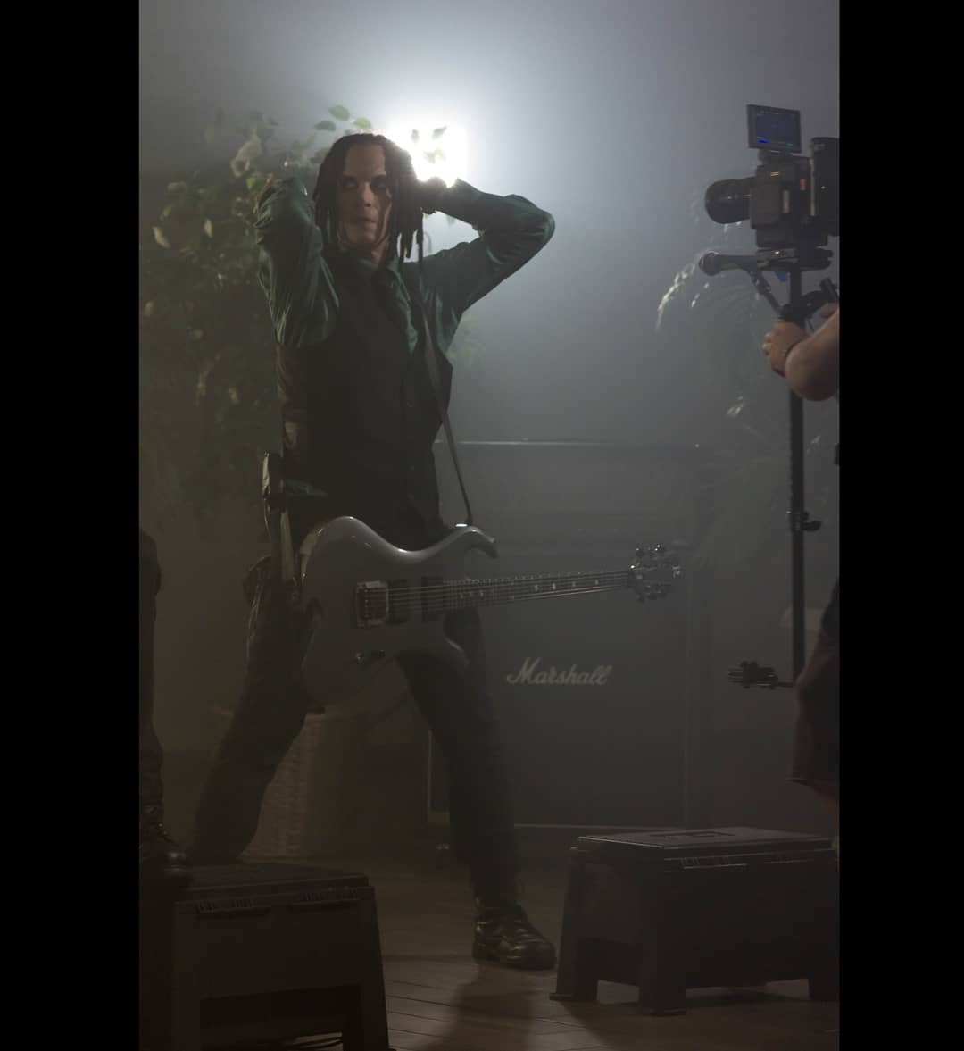 "Tripp Eisen behind the scenes of ""Deliverance"" music video shoot.⁣ Photo: Aleksa..."
