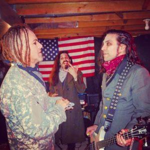 Mantis checks new bassist, Randy, for Covid symptoms prior to LiveStream perform…