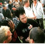 Tripp with Static-X in 2001, interview with CNN. #staticx #trippeisen #waynestat...